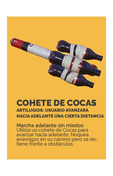 COHETE DE COCA